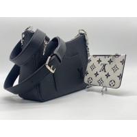 Сумка Louis Vuitton черная с монетницей