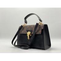 Сумка Louis Vuitton Croisette черно-коричневая