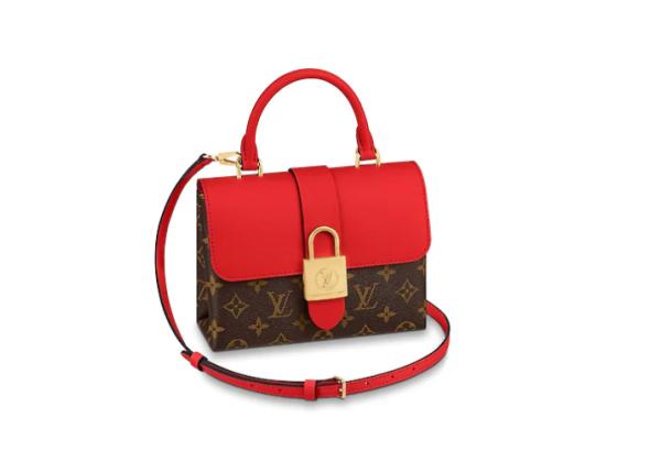 Сумка Louis Vuitton Loyck bb красно-коричневая