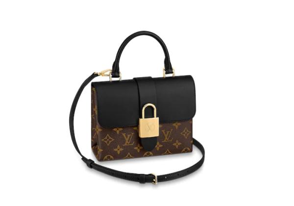 Сумка Louis Vuitton Loyck bb черно-коричневая
