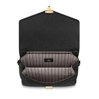 Сумка Louis Vuitton Pochette metis черная с золотым
