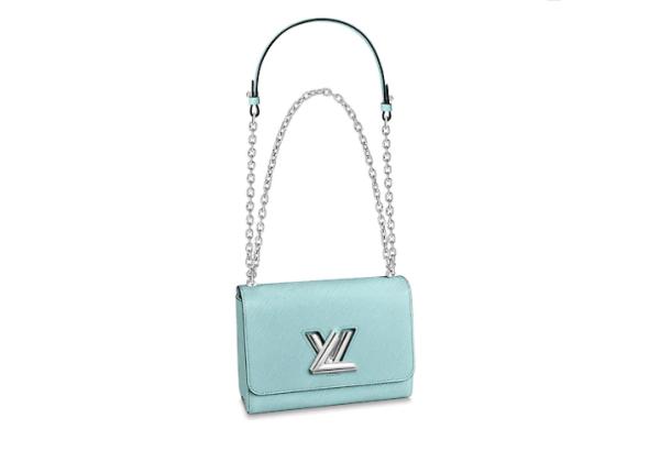 Сумка Louis Vuitton Twist mm голубая