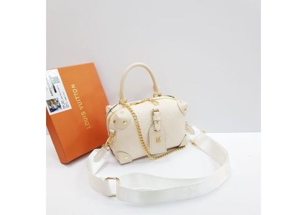 Сумка Louis Vuitton Cluny белая