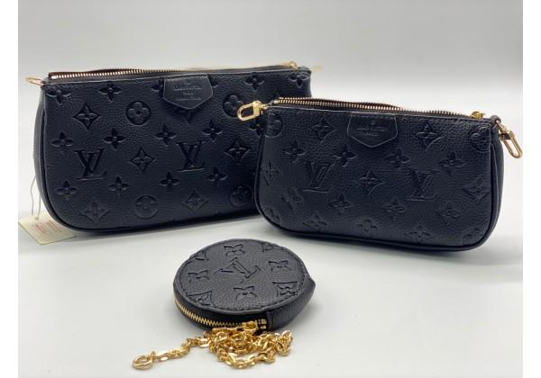 Сумка Louis Vuitton Multi Pochette Monogram синяя